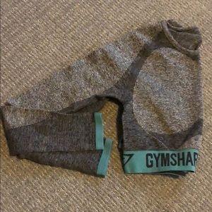 Long sleeve flex crop top gymshark